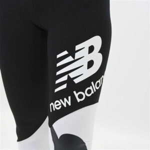 NEW BALANCE WP11517 ATHLETICS SPLICE GRAPHIC LEGGING BLACK/MAGNET
