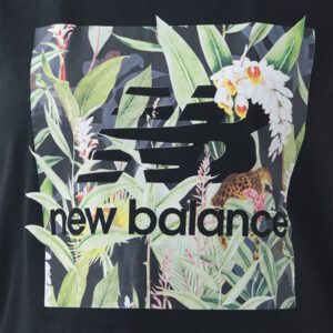 NEW BALANCE ATHLETICS BOTANICAL TEE WT11511 BLACK