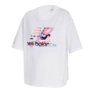 NEW BALANCE ATHLETIC ERIN LOREE GRAPHIC TEE WT11514 WHITE