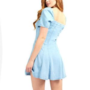 GUESS SCARLET DRESS W1GK74D4D22 LIGHT BLUE